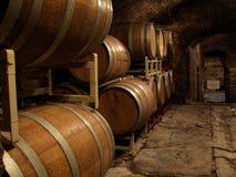 葡萄酒库 免版税库存图片