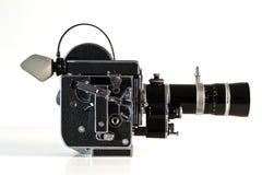 葡萄酒影片照相机 免版税图库摄影