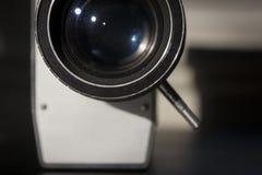 葡萄酒影片照相机 库存图片