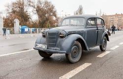 葡萄酒德国汽车欧宝Kadett 1939年 库存照片