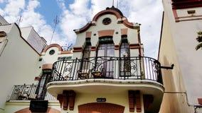 葡萄酒房子在西班牙 免版税库存照片