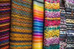 葡萄酒手工制造毯子 免版税图库摄影