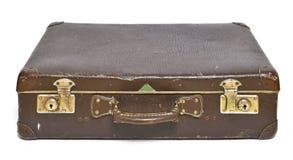 葡萄酒手提箱、减速火箭的行李或者行李 免版税库存图片