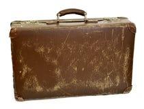 葡萄酒手提箱,减速火箭 图库摄影