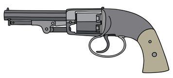 葡萄酒手枪 向量例证