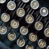 葡萄酒打字机关键字 库存图片