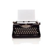 葡萄酒打字机 免版税库存照片