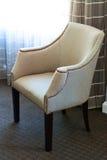 葡萄酒扶手椅子 免版税图库摄影