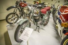 葡萄酒摩托车, 1955年maico体育 免版税库存照片