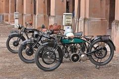 葡萄酒摩托车贝罗斯VL 350 (1921) 免版税库存图片