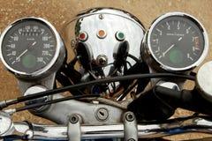 葡萄酒摩托车 库存图片