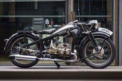 葡萄酒摩托车Zuendapp KS500, 1936年 库存图片