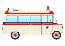 葡萄酒救护车。 库存图片