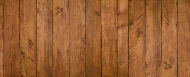 葡萄酒无缝的黑暗的木纹理自然样式 您的文本或图象的全景背景 库存照片