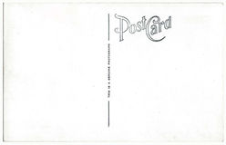 葡萄酒明信片后面艺术品20世纪40年代20世纪50年代 库存照片