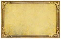 葡萄酒明信片框架 免版税图库摄影