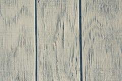 葡萄酒木背景和纹理与削皮油漆 免版税库存照片