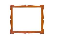 葡萄酒木画框。 免版税库存照片