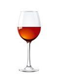 葡萄酒杯例证 库存图片