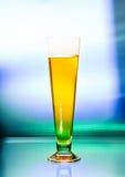 葡萄酒杯啤酒 库存照片