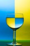 葡萄酒杯 免版税库存图片