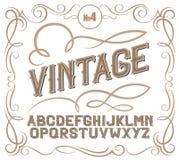 葡萄酒标签字体 Alcogol标签样式 库存照片