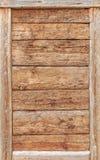 葡萄酒样式木头盘区 免版税库存照片