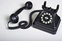 葡萄酒样式电话 免版税库存照片
