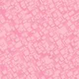 葡萄酒桃红色无缝的长方形背景 免版税库存照片