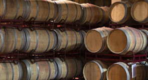 葡萄酒桶 库存照片