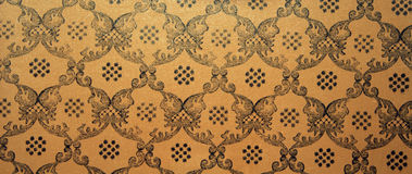 葡萄酒棕色锦缎无缝的样式背景 库存照片