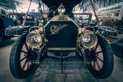葡萄酒汽车卡迪拉克模型三十, 1911年 免版税库存照片