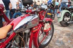葡萄酒汽车和摩托车爱好者传统会议  库存图片