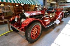 葡萄酒汽车在全国汽车博物馆,里诺,内华达 免版税库存照片