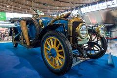 葡萄酒汽车德拉热B1 Tourer, 1915年 库存图片