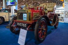 葡萄酒汽车快速7 HP双座Tourer, 1904年 库存图片