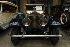 葡萄酒汽车罗斯劳艾氏幽灵我, 1927年 库存图片