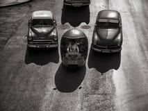 葡萄酒汽车,哈瓦那幻想 库存照片