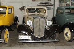 葡萄酒汽车1933年薛佛列小轿车 库存图片