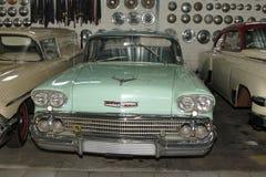 葡萄酒汽车1958年薛佛列轿车 免版税库存图片