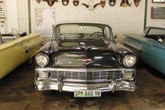 葡萄酒汽车1956年薛佛列Hardtop小轿车 免版税库存图片