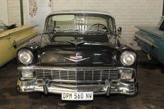 葡萄酒汽车1956年薛佛列Hardtop小轿车 图库摄影