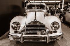 葡萄酒汽车Awtovelo EMW/BMW 340-2, 1952年 库存图片