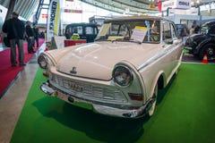 葡萄酒汽车DKW Junior de Luxe, 1962年 免版税库存图片