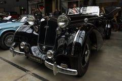 葡萄酒汽车Horch 853A体育Cabriolet, 1940年 免版税库存图片