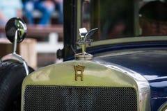 葡萄酒汽车Horch 8 Typ 303的片段 免版税库存图片