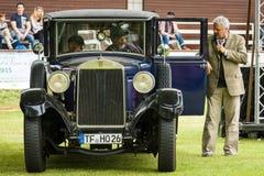 葡萄酒汽车Horch 8 Typ 303 免版税库存照片
