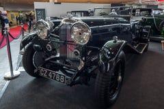 葡萄酒汽车Lagonda 3公升Tourer, 1934年 免版税库存图片
