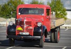 葡萄酒法戈卡车从1947年 库存照片