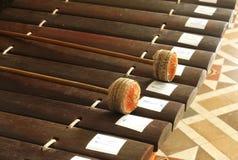 泰国女低音木琴 免版税库存照片